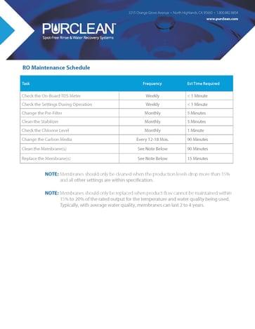 RO Maint Schedule_012121-1
